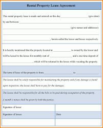8 rental lease agreement template word memo templates