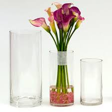 Floral Vases And Containers Containers U0026 Vases Containers Glassware Glass Vases Cylinders