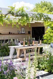 garden tour a fairytale english cottage garden with a scandi