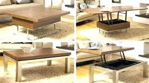 convertible coffee table dining table coffee table bookcase convertible table image of convertible coffee