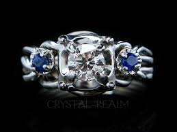 platinum crystal rings images Puzzle rings platinum crystal realm artisan hand crafted jpg