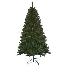home accents 6 5 ft pre lit jackson spruce artificial
