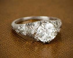 etsy diamond rings images Vintage engagement rings etsy new wedding ideas trends jpg