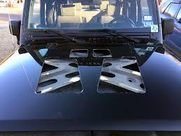 jeep hood vents just venting u2026 poisonspyder jk hood louver install smokey the jeep