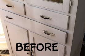chalk paint and refinishing a vintage cabinet the details the