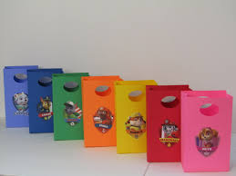 party favor bags 14 paw patrol large party favor bag candy bagtreat baggift