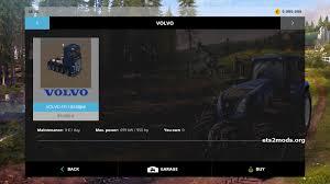 volvo heavy truck 5 axis volvo heavy duty truck mod fs15 mods