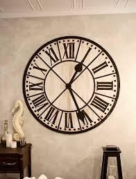 pendule cuisine 45 idées pour le plus cool horloge géante murale archzine fr