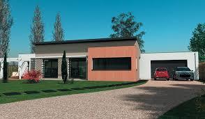 plan maison contemporaine plain pied 4 chambres beau plan maison de plain pied 4 chambres 4 maison design de