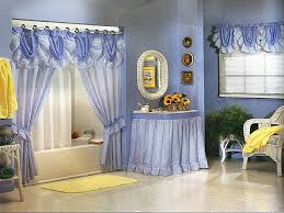 bathroom valances ideas magnificent modern bathroom shower curtains ideas blue of curtain