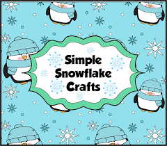 a crucial week simple snowflake crafts for all classes in