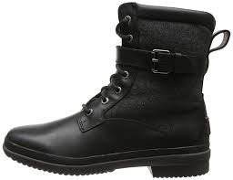 s kesey ugg boots ugg australia s kesey lace up boot black 7 5 b m us buy