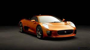 orange sports cars 007 spectre bond cars jaguar cx 75 orange 7