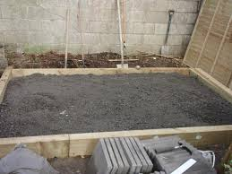 Patio Foundation How To Make A New Patio U2013 Peter Donegan Landscaping Ltd Dublin