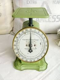 balance de cuisine retro my grandfather had a scale just like this one he weighed the big