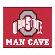 Ohio State Outdoor Rug Fanmats Ohio State Cave 5 Ft X 6 Ft Area Rug
