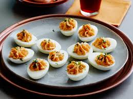 deviled egg recipes chesapeake bay pimento more cooking