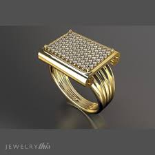pave mens ring diamond and ruby 3d printable 25 best 3d model jewelry for 3d print images on