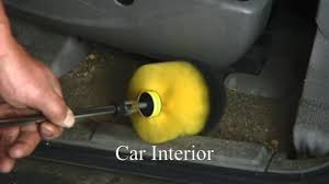 Interior Cleaner For Cars Joe Magenst Recommends The Drill Brush For Cleaning Car Interiors