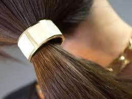 hair cuff ponytail cuff by l erickson