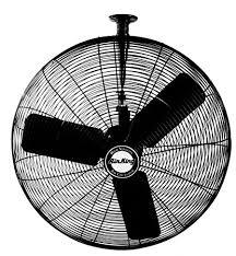 ceiling mount oscillating fan amazon com air king 9325 24 inch 3 speed industrial grade
