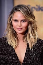 image result for chrissy teigen lob hair hair u0026 makeup lookbook