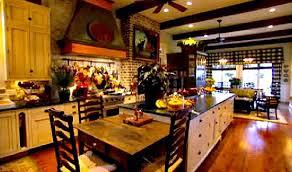paula deen kitchen furniture paula deen s kitchen in ga hooked on houses