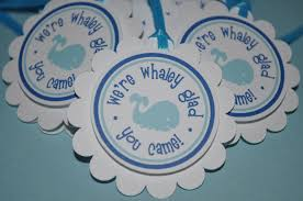 whale themed baby shower 24 baby shower favor sticker labels whale theme personalized