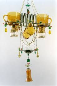 Tea Cup Chandelier 204 Best Vintage Chandeliers Images On Pinterest Chandeliers