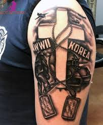 cool army tattoos for or