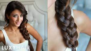 how to five 5 strand braid youtube