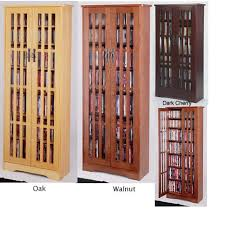 Dvd Storage Cabinets Wood by Mission Style Multimedia Storage Cabinet