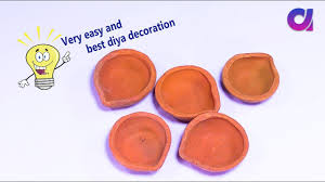 very easy unique diya decoration at home decoration for diwali