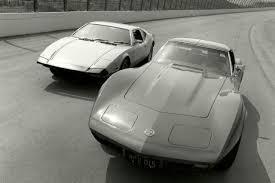 corvette test top speed test 1973 corvette vs pantera