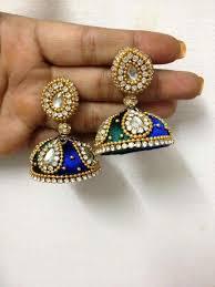 earrings app 479 best stj images on thread jewellery silk thread