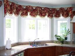 Ideas For Kitchen Windows Kitchen Kitchen Curtains Ideas Bay Window Charming Bay Window