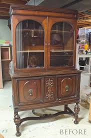 why i almost cried over this vintage china hutch the golden