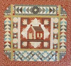 quilting with ingalls wilder house on the prairie