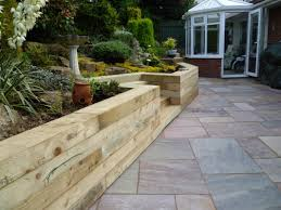 Ideas For Retaining Walls Garden by Timber Retaining Wall Google Search Timber Retaining Walls And