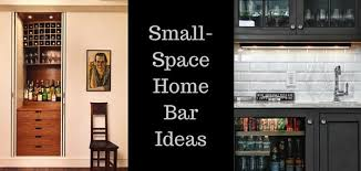 Small Space Bar Ideas - Home bar designs for small spaces