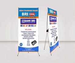 cara membuat desain x banner di photoshop download dan cara membuat x banner agen brilink dengan coreldraw x4