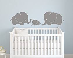 Cheap Wall Decals For Nursery Elephant Family Wall Decal Nursery Wall Decals