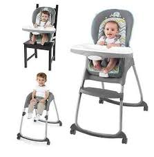 Child High Chair Toddler High Chair Booster Safety Seat Tray Recline Home Baby Kids