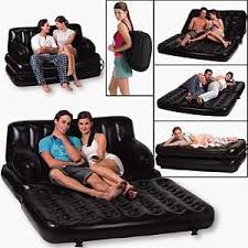 5 in1 multifunctional inflatable double air sofa chair couch