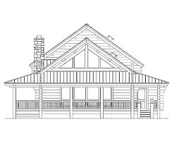 Log Mansion Floor Plans by Log Home Floor Plan Country Classic