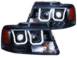 ford f150 headlight bulb 2004 2008 f150 anzo u bar projector headlights black 111288