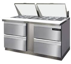 continental pizza prep table commercial drawer unit refrigerated sandwich prep tables from