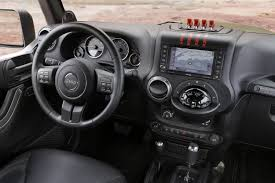 jeep inside view jeep reveals hellcat powered wrangler and other crazy concepts