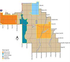 map of chandler az employment centers