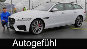 jaguar xf sportbrake review exterior interior estate kombi new